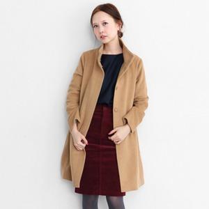 A字型立領大衣
