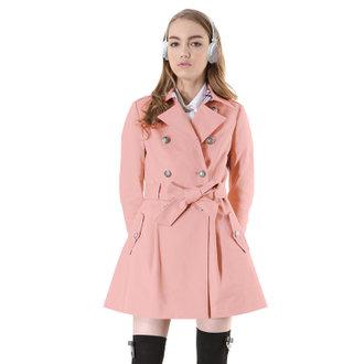 經典英倫風衣-粉紅
