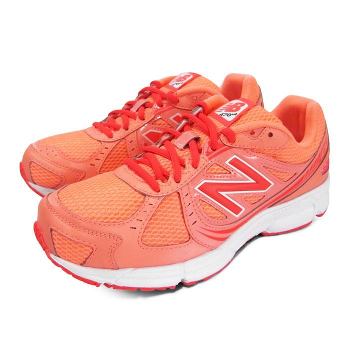 慢跑鞋 粉橘/紅