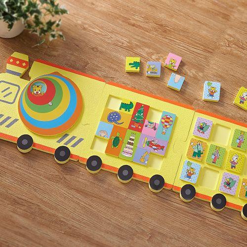 地板火車遊戲組