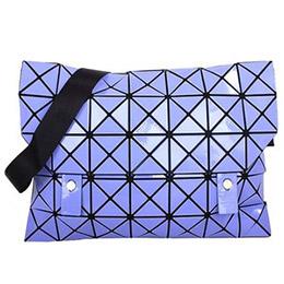 三宅一生 BAOBAO幾何方格5x7斜背包