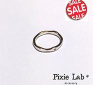 Accessory Kitchen『925純銀』波浪造型簡約指節戒指