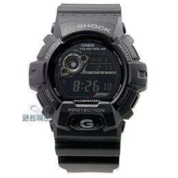 G-SHOCK消光黑 太陽能電力時尚錶款