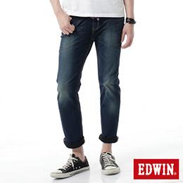 EDWIN JERSEYS紅布邊窄管迦績褲