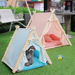 印地安寵物帳篷睡窩