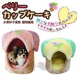 《日本沛蒂露》甜美水果杯子蛋糕睡窩