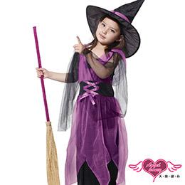 萬聖節童裝魔法女巫