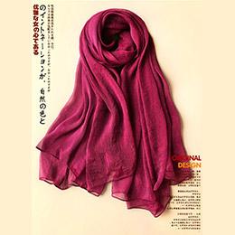蠶絲絲巾 圍巾