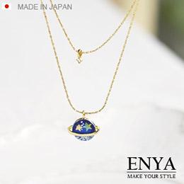 日本 星月星空項鍊