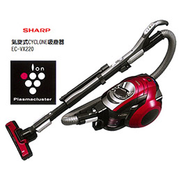 SHARP夏普 氣旋式吸塵技術CYCLONE吸塵器 EC-VX220R