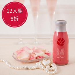 保加利亞大馬士革玫瑰蒸餾飲・12入組x250ml/瓶