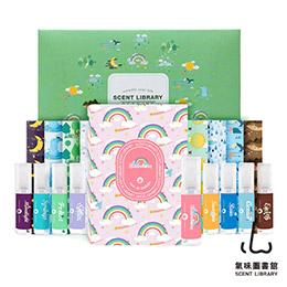 自有品牌ScentLibrary自然系列淡香水禮盒