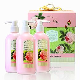 大馬士革玫瑰保濕護髮禮盒組
