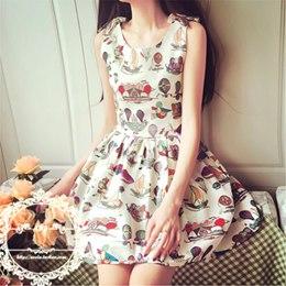 立體蝴蝶結復古顯瘦打底連身裙