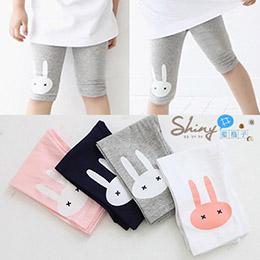 小兔彈性五分褲(5色)
