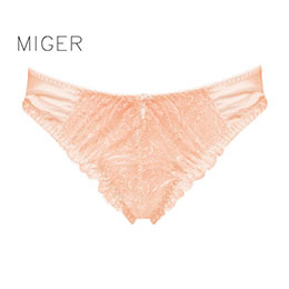 密格-歐風蕾絲中低腰三角褲