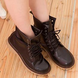 雜誌款8孔馬汀靴