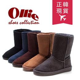 韓國Ollie中筒防滑雪靴