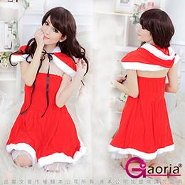 絨布披肩聖誕角色服