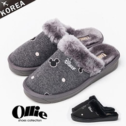 現貨   Ollie米奇毛絨室內鞋 / 親子鞋