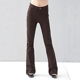 S-7L尺寸│超彈性修長靴型長褲 (共3色)