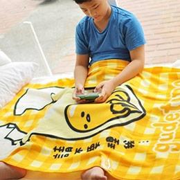 蛋黃哥冷氣毯