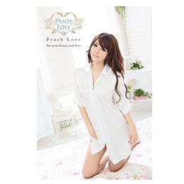 性感柔緞睡衣