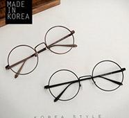 圓形金屬細框造型眼鏡