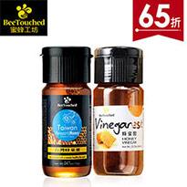 台灣蜂巢蜜+蜂蜜醋