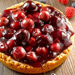 森林莓果佐起士★4種黑森林莓果