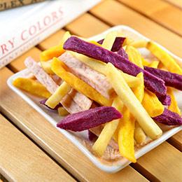 芋薯好朋友+蔬果脆片2包入