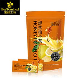 蜂蜜柚子茶10包入★69%果汁