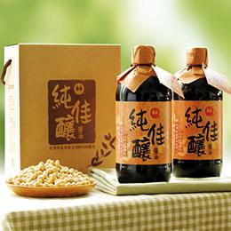 非基改純佳釀醬油禮盒6入(x2盒)