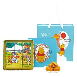 【奇美伴手禮盒】小熊維尼鳳梨酥禮盒