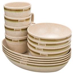Coleman 竹纖維四人份餐盤組