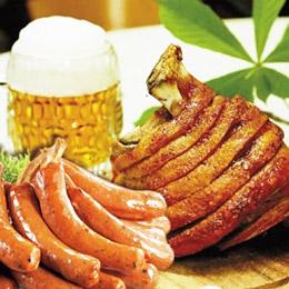 海賊帶骨漫畫肉 10隻+德國煙燻豬腳 600g