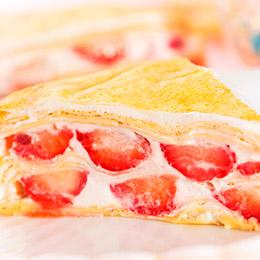 草莓多千層蛋糕8吋