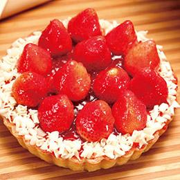 新鮮草莓派6吋❤顛覆經典