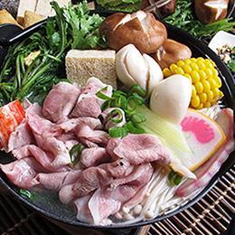 霜降松阪豬肉★涮涮豬肉鍋物煮