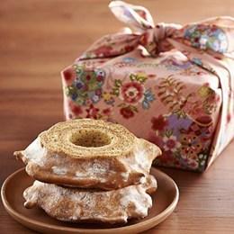 朝日糖霜年輪蛋糕(奶香)