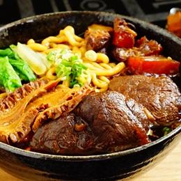 三寶牛肉麵(牛腱/牛筋 /牛肚)5包組