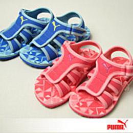 PUMA兒童涼鞋