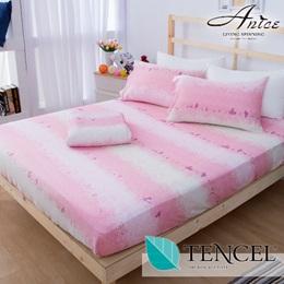 100%全天絲床包枕套組-雙人