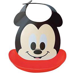 迪士尼授權!可拆式立體防水圍兜