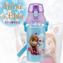 新品迪士尼/三麗鷗 冰雪奇緣 卡通造型日製直飲式水壺