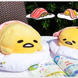 蛋黃哥手握壽司抱枕