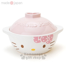 Hello Kitty 日製陶瓷土鍋