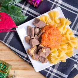 聖誕大餐組合《沙朗牛排+義大利麵+肉丸》