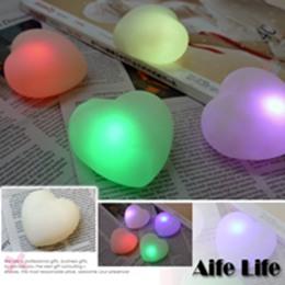 七彩LED心型燈