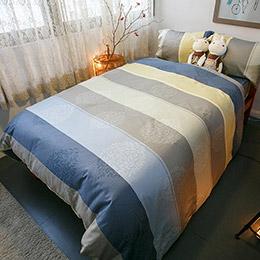 經典八零年代 新式床包兩用被5件組